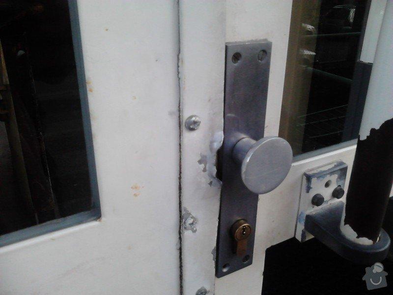 Oprava kovových vchodových domovních  dveří: vchodove_dvere