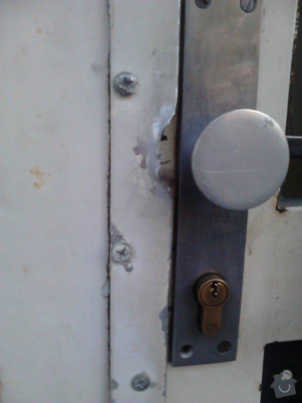 Oprava kovových vchodových domovních  dveří: vchodove_dvere_II