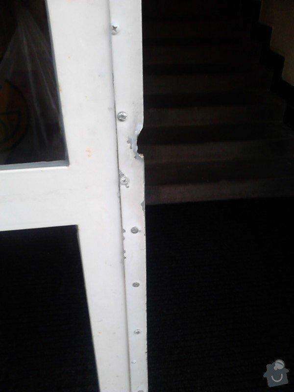 Oprava kovových vchodových domovních  dveří: vchodove_dvere_III
