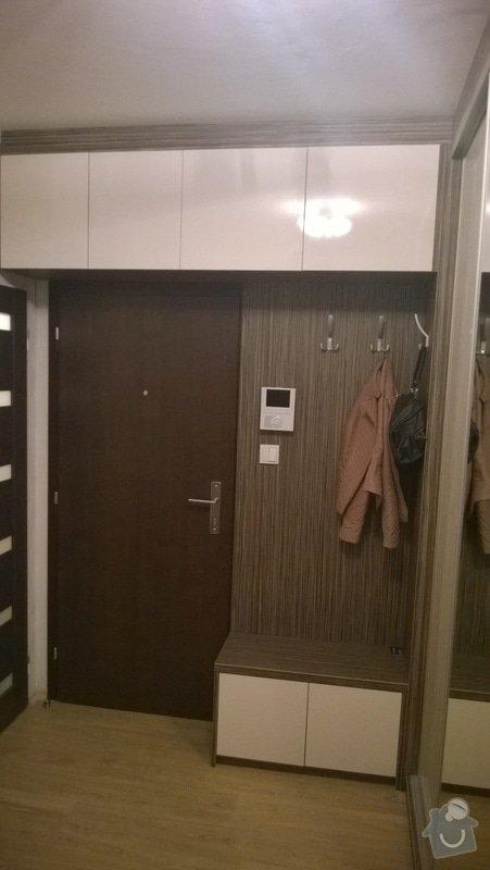 Vestavena skrin, obyvaci stena, postel: WP_20140226_009