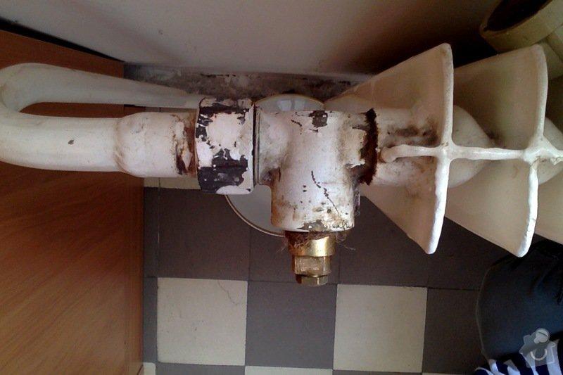 Výměna ventilů na radiátorech za termostatické: ventil2