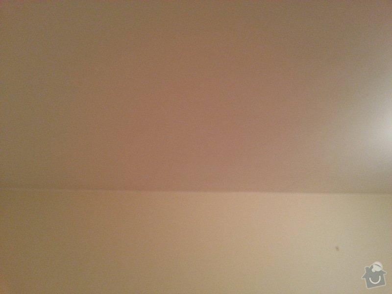 Malování bytu 3kk, Praha Stodůlky: strop_dItsky_pokoj_po_vestavIne_sk2ini