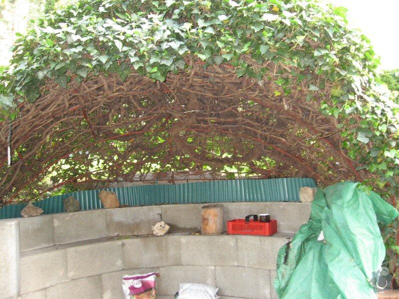 Obloukovitou zahradní pergolu: altan_001