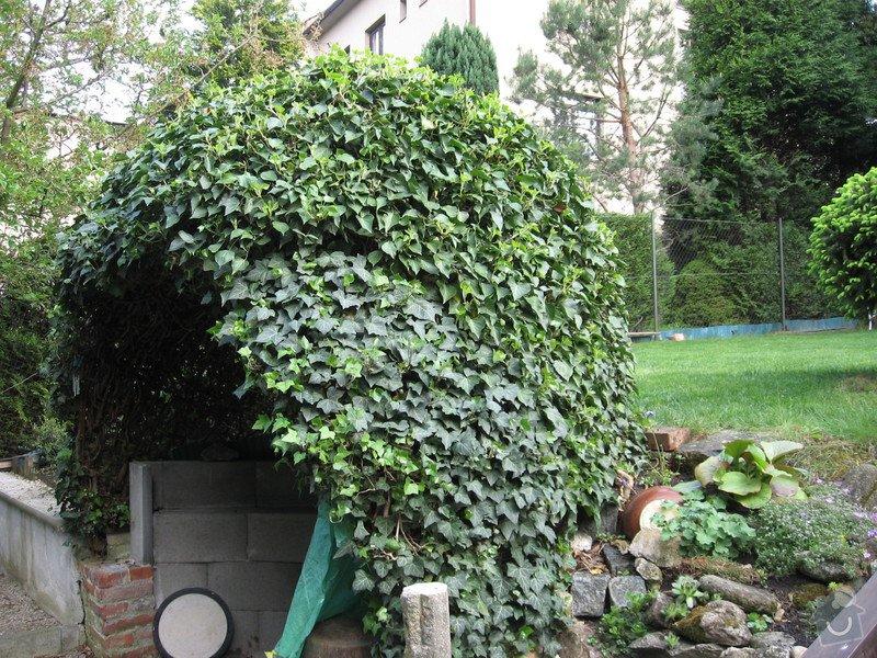 Obloukovitou zahradní pergolu: altan_005
