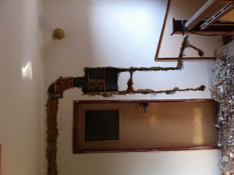 Zednické práce po elektro rekonstrukci: photo1