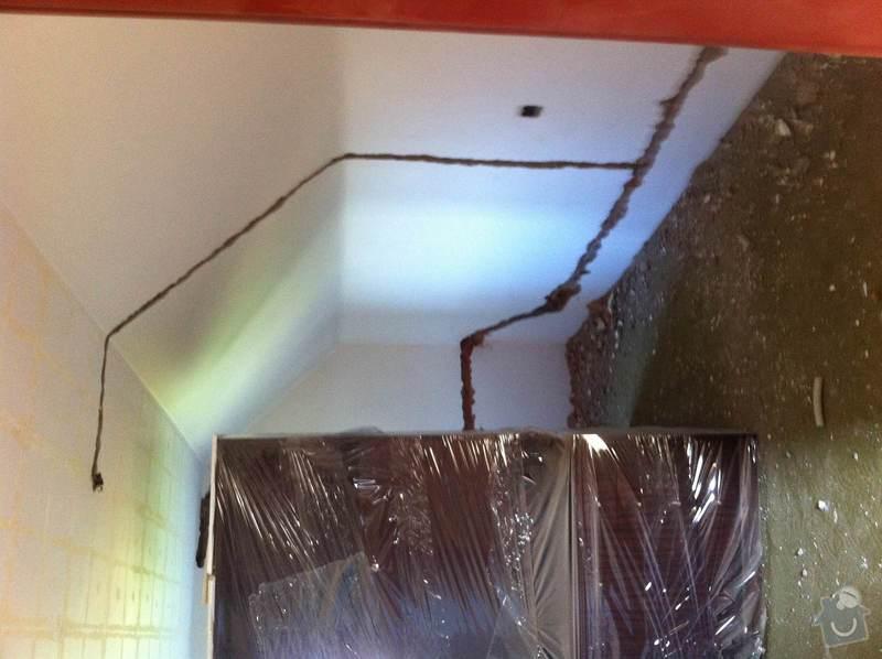Zednické práce po elektro rekonstrukci: photo2