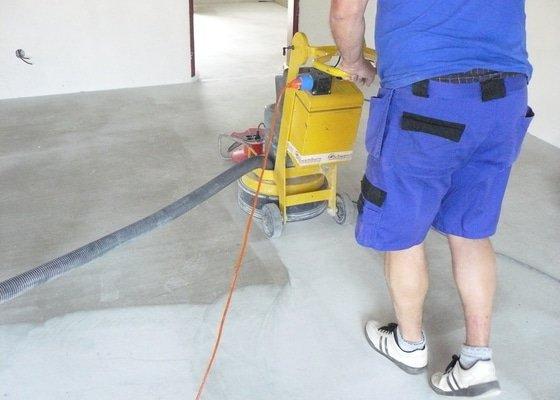 Zhotovení finální podlahy cementovým potěrem