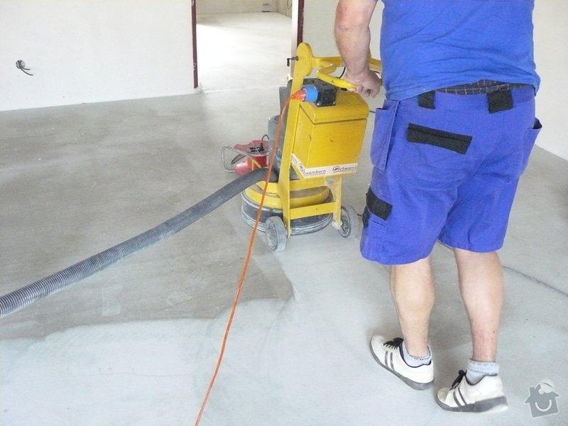 Zhotovení finální podlahy cementovým potěrem: stroje5