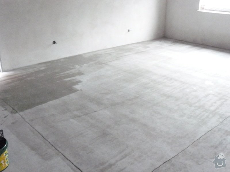 Zhotovení finální podlahy cementovým potěrem: natirani3