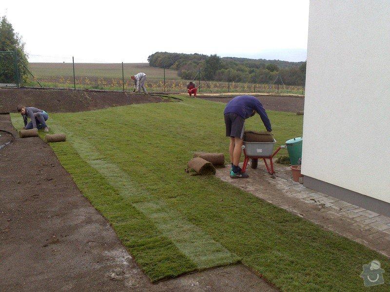 Založení trávníku 320m2 (výsev nebo pokládka koberce): 2013-09-12_07.25.22