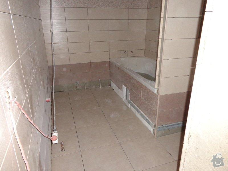 Oblozeni koupelny a wc: DSC00220