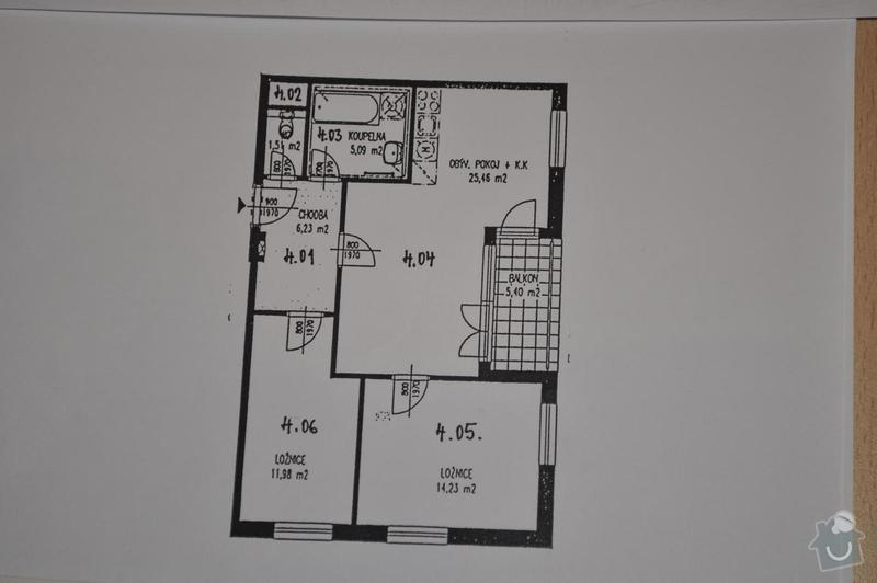 Interiérové řešení bytu - interiérový design: resized_DSC_0087