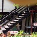 Vyrobce a instalace kovoveho schodiste schody