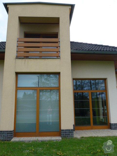 Renovace dřevěných oken a zábradlí: P1030562