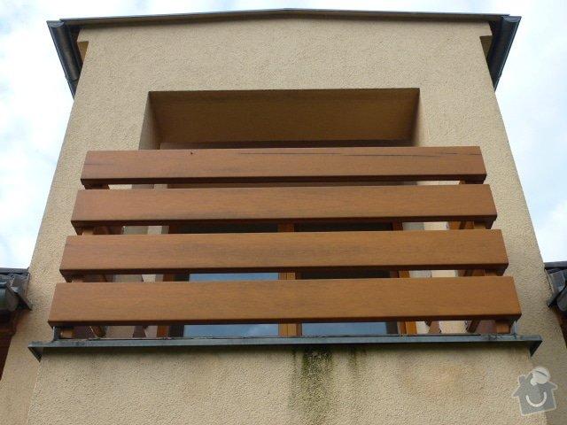 Renovace dřevěných oken a zábradlí: P1030559