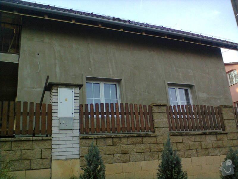 Zhotovení fasády RD: Fotografie0566