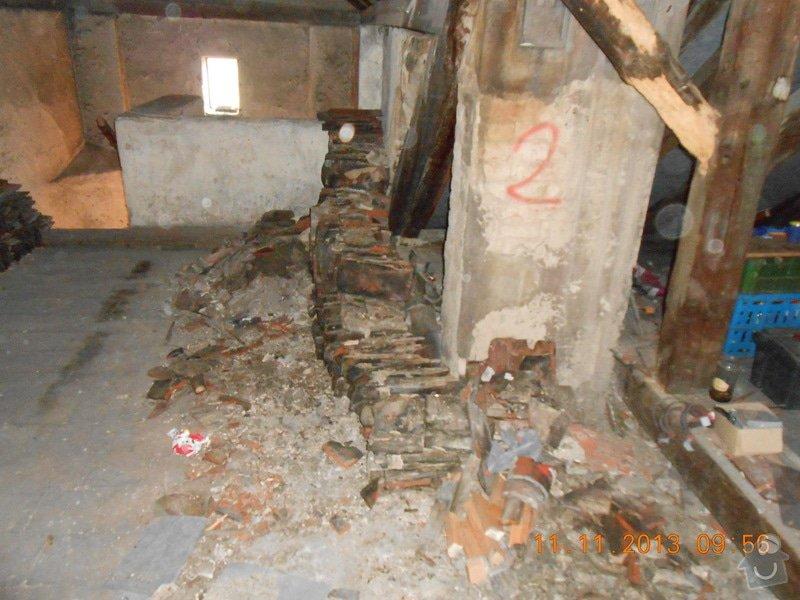 Rekonstrukce střechy: DSCN0598