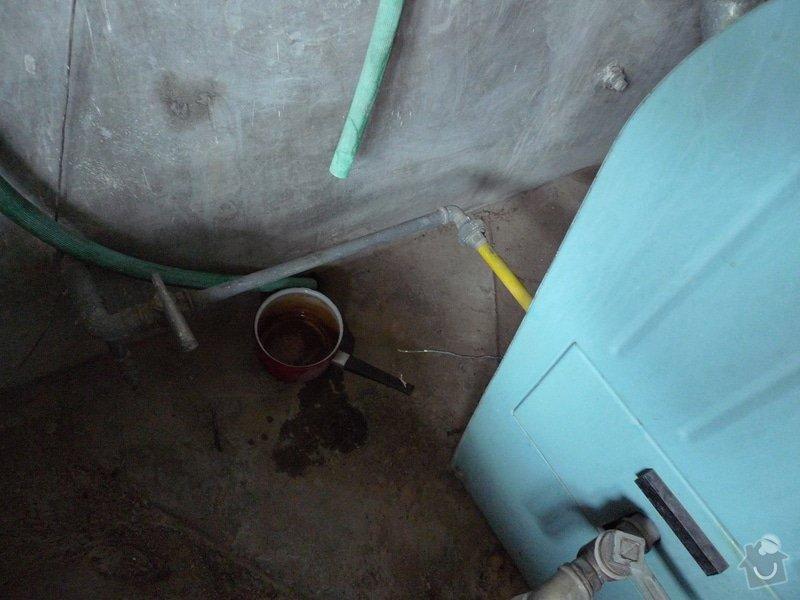 Vyklizení prádelny, zbourání betonových nádrží: P1150151