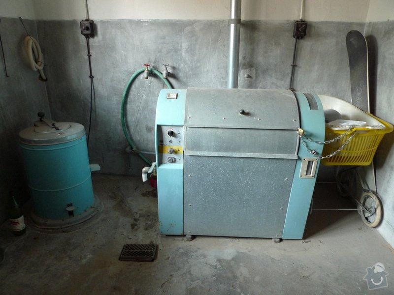 Vyklizení prádelny, zbourání betonových nádrží: P1150152