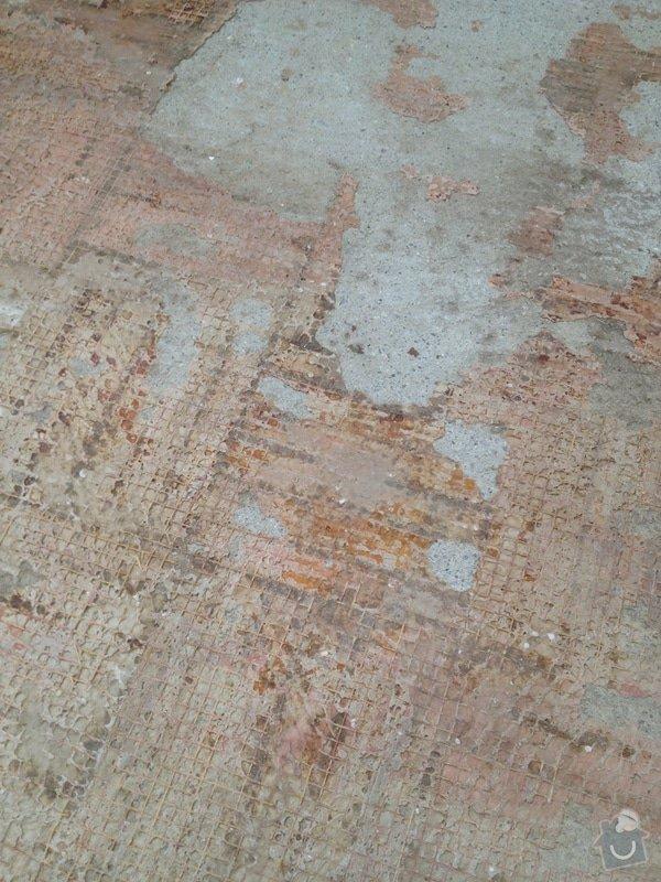 Samonivelační stěrka, pokládka plovoucí podlahy: IMG_1733