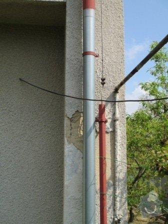 Opravu břizolité fasády: dum_okap2