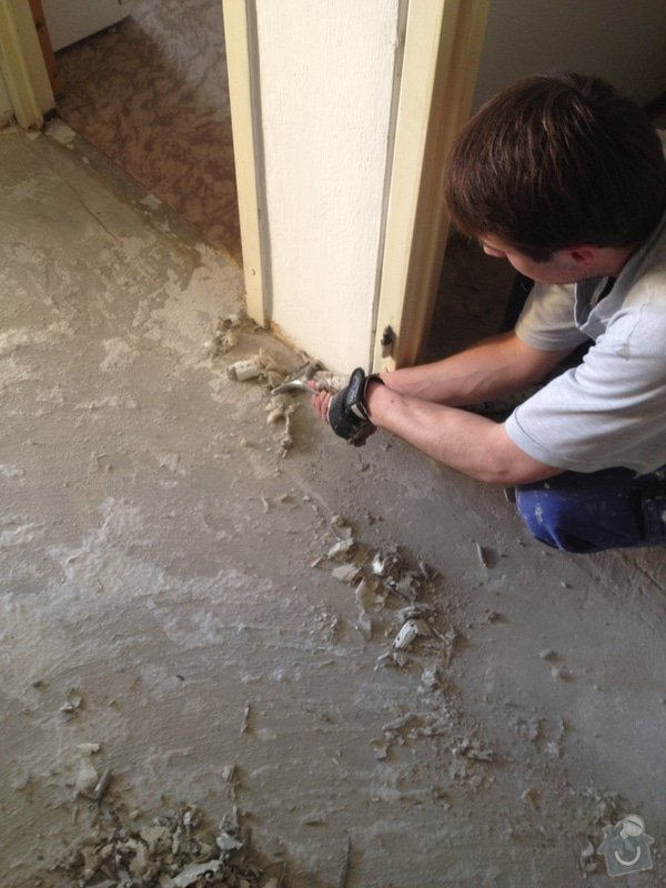 Položení lepené vinylové podlahy : IMG_1730