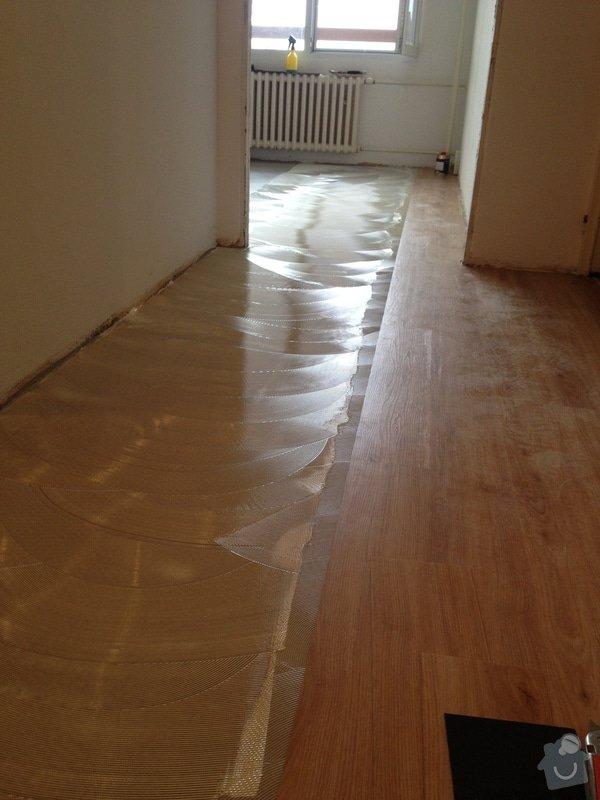 Položení lepené vinylové podlahy : IMG_1769