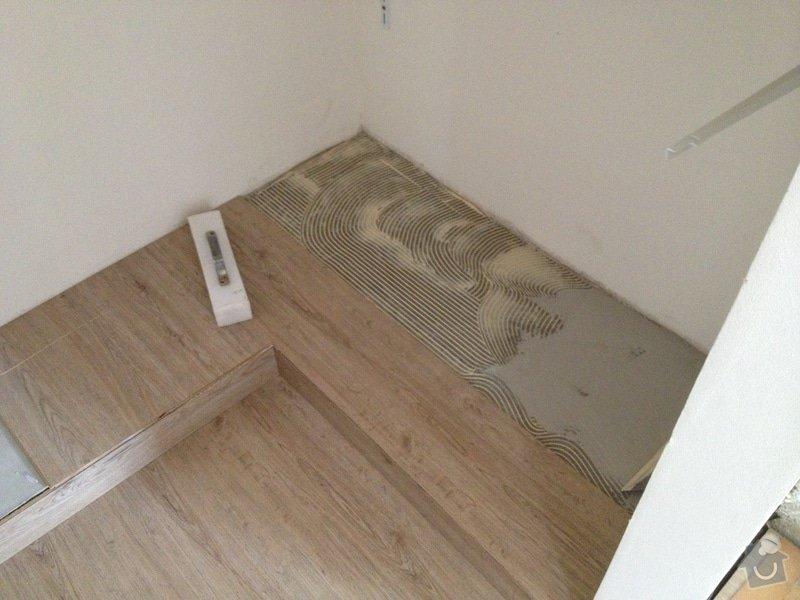 Broušení betonu, vyrovnání podlah samonivelační stěrkou, položení vinylové plovoucí podlahy: IMG_0743