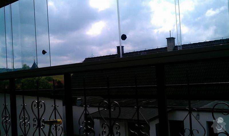 Zasklení balkonu: balkon