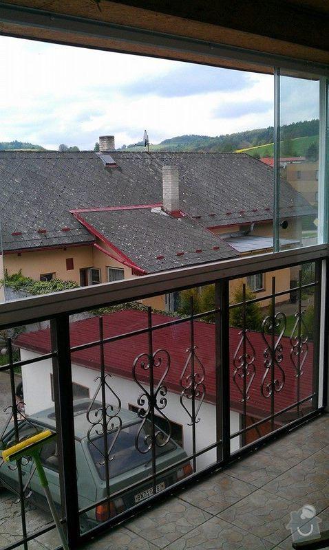 Zasklení balkonu: balkon1