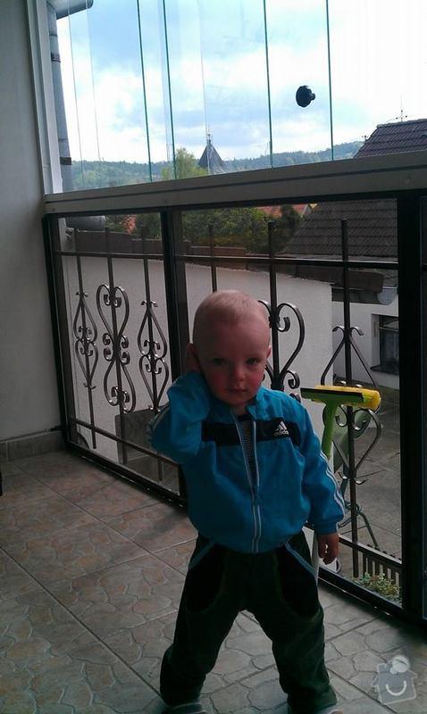 Zasklení balkonu: balkon2