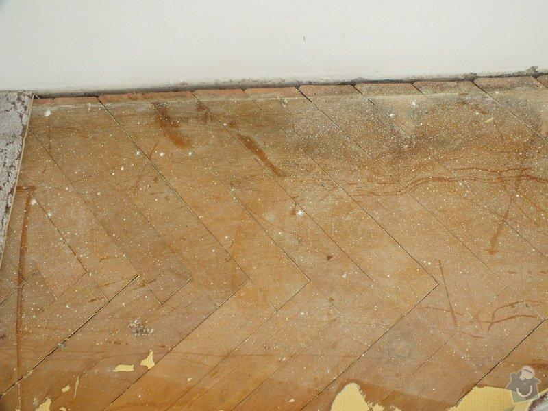 Pokládka vinyl podlahy: DSCF4476