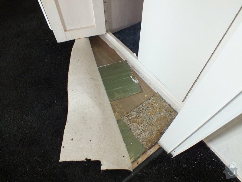 Pokládka vinyl podlahy: DSCF4489