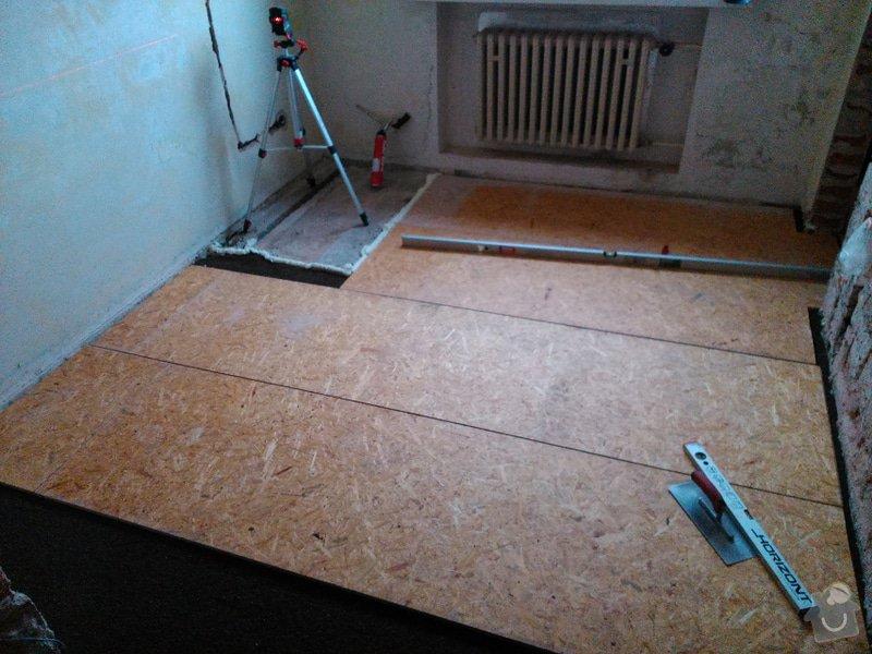 Rekonstrukce bytu, vinylová podlaha - Kuřim: Kurim7