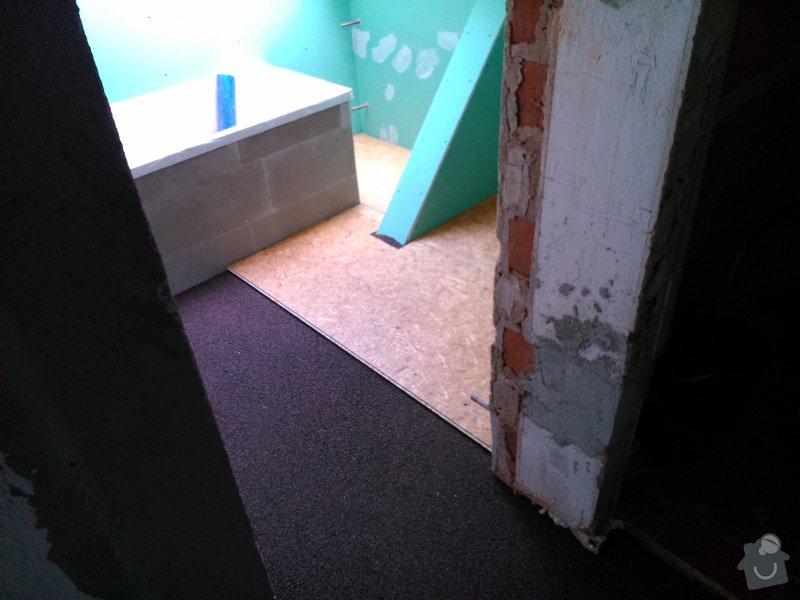 Rekonstrukce bytu, vinylová podlaha - Kuřim: Kurim8