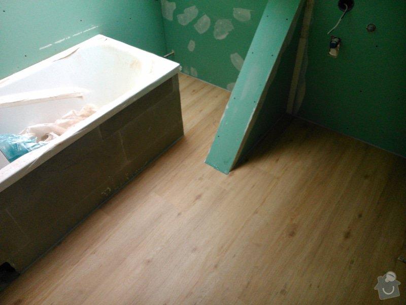 Rekonstrukce bytu, vinylová podlaha - Kuřim: Kurim11
