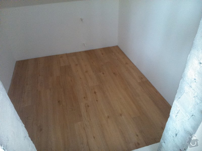 Rekonstrukce bytu, vinylová podlaha - Kuřim: Kurim12