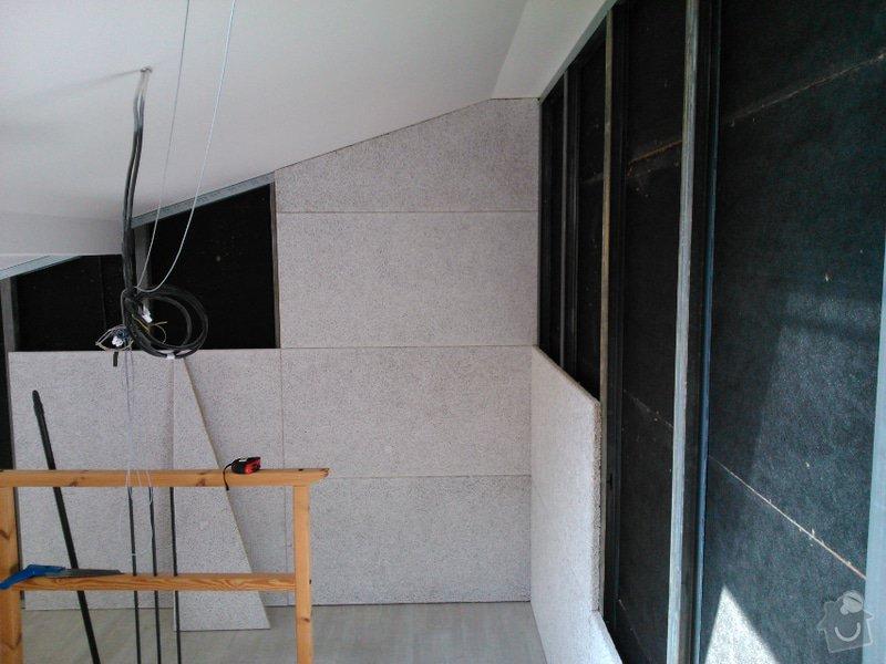 Zvukově pohltivá předsazená stěna: Heradesing1