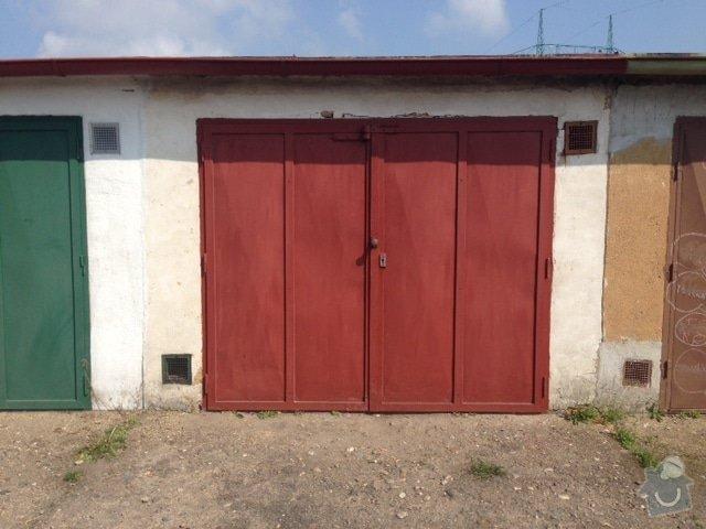 Rekonstrukce garáže: obrazek_1