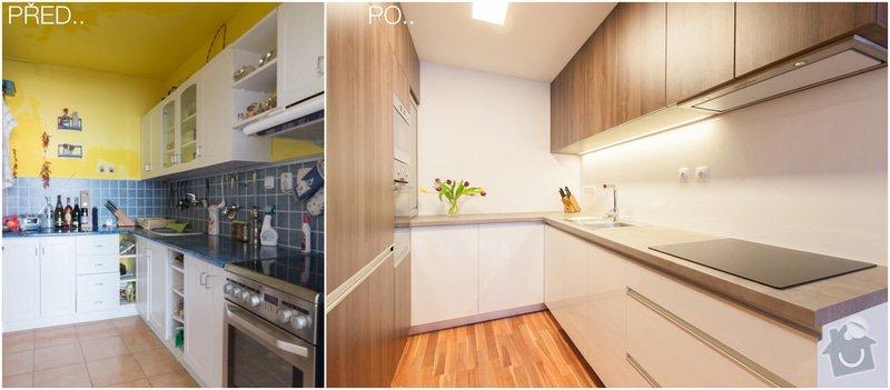 Návrh a rekonstrukce kuchyň : PRED-PO1