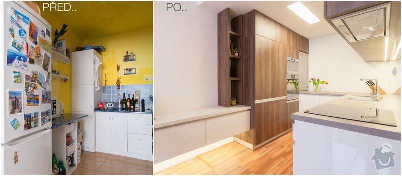 Návrh a rekonstrukce kuchyň : PRED-PO2