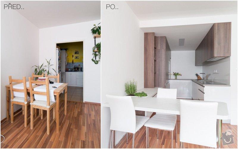 Návrh a rekonstrukce kuchyň : PRED-PO3