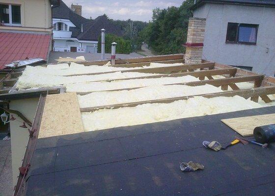Komplení rekonstrukce plochých střech