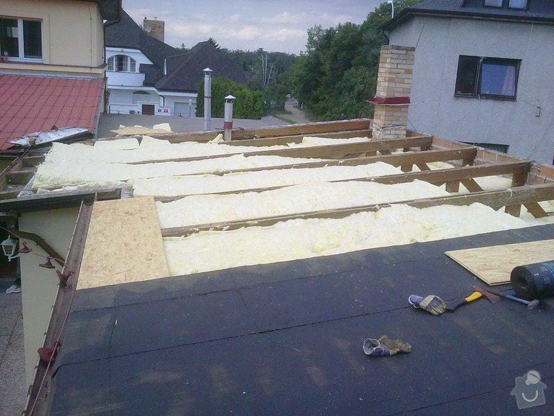 Komplení rekonstrukce plochých střech: 19082010559