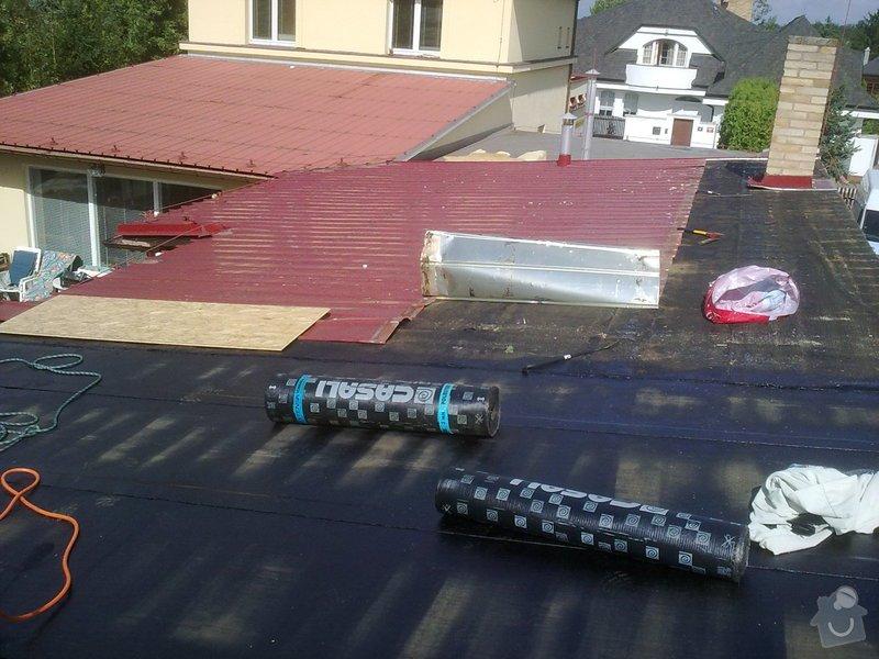 Komplení rekonstrukce plochých střech: 19082010548