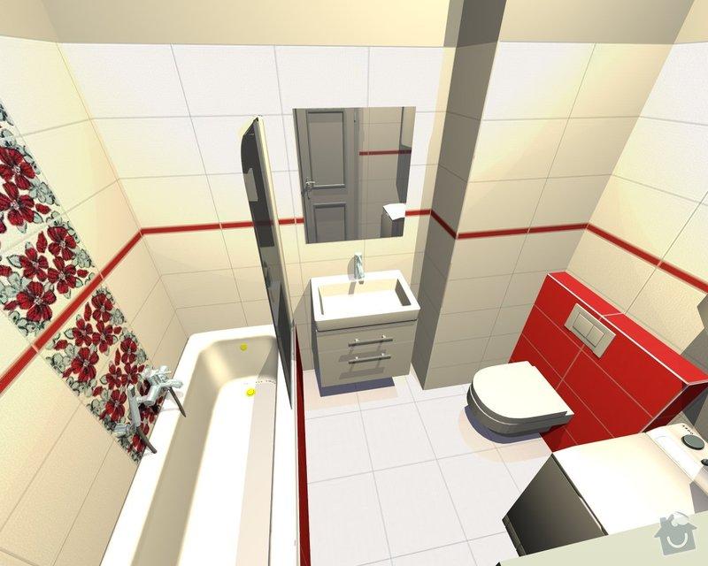 Rekonstrukce koupelny: Katrnoska3
