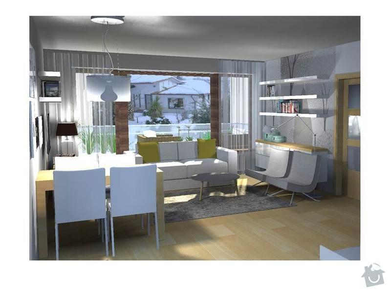 Návrh obývacího a dětského pokoje: Snimek1