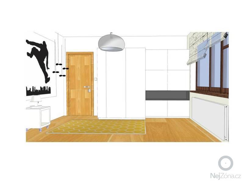 Návrh obývacího a dětského pokoje: Snimek2