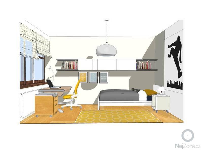 Návrh obývacího a dětského pokoje: Snimek3