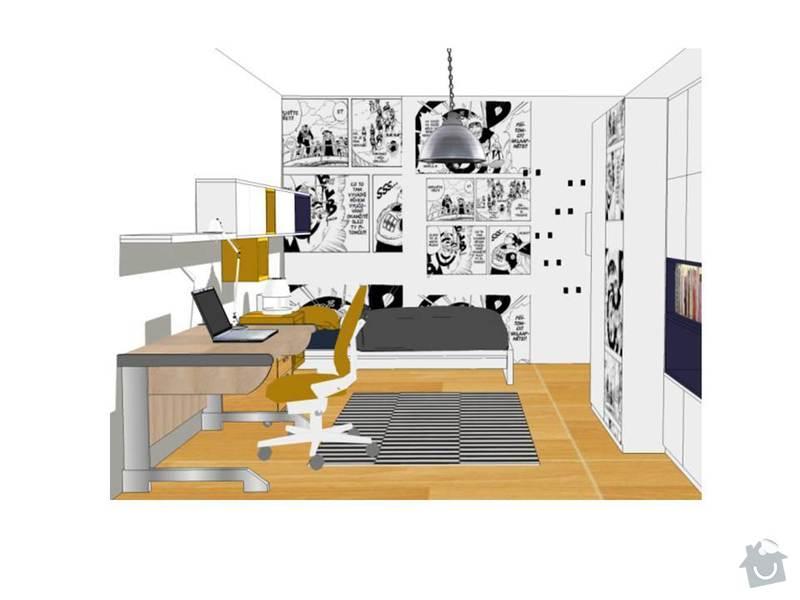Návrh obývacího a dětského pokoje: Snimek5